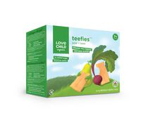 Love Child Organics Teefies Organic Multigrain Teething Wafer - Pear & Beet