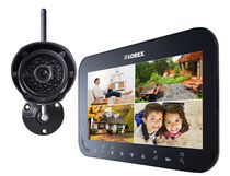 "Lorex by FLIR 7"" Wireless Surveillance System & 1 Camera"