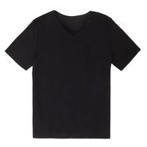 George Classic Womens V-neck INT Top Black L