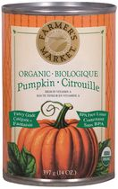 Farmer's Market Foods Organic Canned Pumpkin Puree