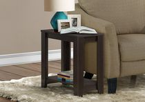 Monarch Specialties Accent Table - Cappuccino