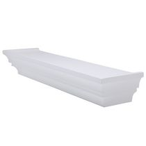 "Home Trends 20"" Decorative Wall Ledge - White"