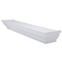 "Home Trends 24"" Decorative Wall Ledge - White"