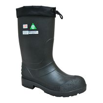 "Weather Spirits John  Mens' Metal Free Safety Insulated 14"" Work Boots 10in"