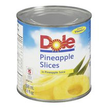 Dole Sliced Pineapples in Pineaple Juice
