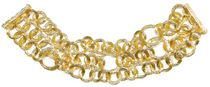 Chain link Bracelet in Gold Tone