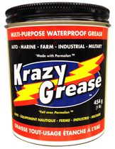 Krazy Grease™ Premium, Multi-Purpose, Waterproof Grease - Jar, 454g
