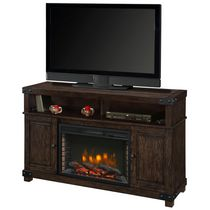 "Muskoka Hudson 53""Rustic Brown Media Fireplace"