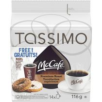 Tassimo McCafé Premium Roast Ground T Disc Coffee