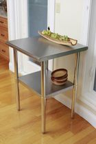 TRINITY EcoStorage™ NSF Stainless Steel Prep Table