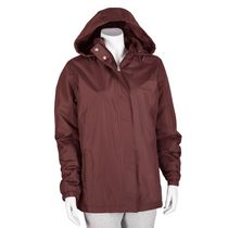 George Women's Hooded Jacket Burgundy L/G