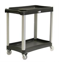 Trinity EcoStorage™ Commercial Grade Utility Cart – Black
