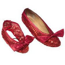 Dorothy's Ruby Shoe Covers for Children