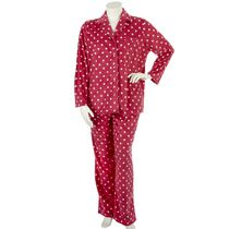 George Plus Women's 2-Piece Plush Pyjama Set Pink 1x