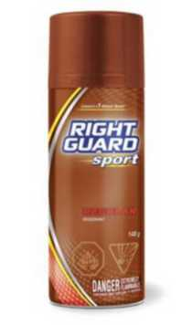 Déodorant en aérosol régulier Sport de Right Guard