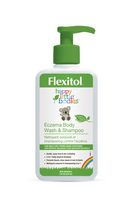 Nettoyant corporel et shampoing contre l'eczéma Happy Little Bodies de Flexitol