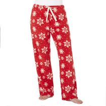 George Women's Plush Pant Red XL/TG