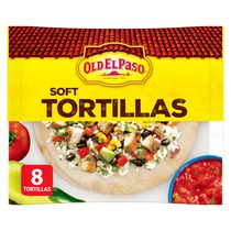 Tortillas souples d'Old El PasoMC