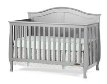 Child Craft™ Camden 4-in-1 Convertible Crib Grey