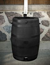 RTS Home Accents Flat Back ECO Rain Barrel