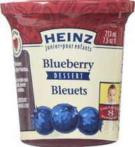 Heinz Junior Dessert Blueberry Baby Food