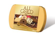Waterbridge All Gold Belgian Chocolate Cookie Tin