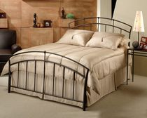 Hillsdale Vancouver Collection King Size Brown Bed