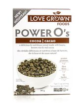 Céréales « Power O's » de Love Grown - cacao