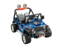 Véhicule Jeep Wrangler Hot Wheels Power Wheels de Fisher-Price