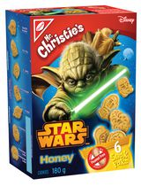 Biscuits au miel Snak Pak Star Wars