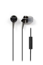 Wicked Audio Metallics Earbud Headphones with Mic Black