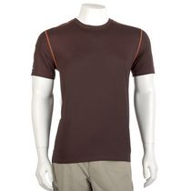 Athletic Works Men's Short Sleeve Athletic Top Burgandy XL/TG
