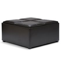 Franklin Storage Ottoman With 4 Trays