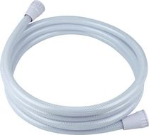 Brasscraft® White Shower Hose 96""