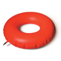 MedPro Inflatable Rubber Invalid Ring Cushion, Diameter 16 in / 40,6 cm