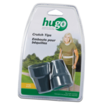 Hugo Rubber Contoured Crutch Tips (2), Large