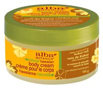 Alba Botanica Natural Hawaiian Deep Moisturizing Kukui Nut Body Cream