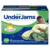 Pampers UnderJams Bedtime Underwear Boys