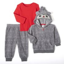 George Baby Boys' 3-Piece Microfleece Set 6-12 months