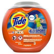 Tide PODS Plus Febreze 4 in 1 Odor Defense Laundry Detergent