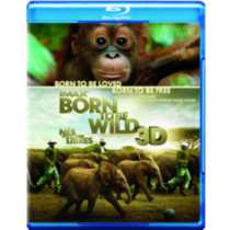 IMAX: Born To Be Wild (3D) (Blu-ray 3D + Blu-ray) (Bilingual)
