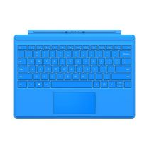 Microsoft Surface Pro 4 Type Cover, English, Bright Blue