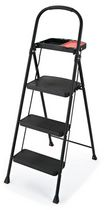 Rubbermaid 3-Step Steel Step Stool with Tray