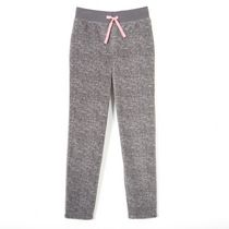 George Girls' Micro Fleece Jogger Light Grey 6