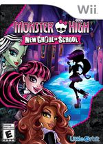 Monster High New Ghoul in School Wii
