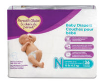 Parent's Choice diapers - Jumbo