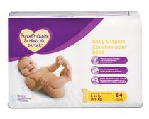 Parent's Choice Diapers Mega Pack (Choose Your Size) Size 1