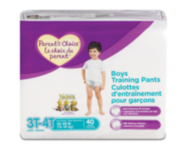 Parent's Choice Training Pants - Boys (Choose Your Size) 3T-4T