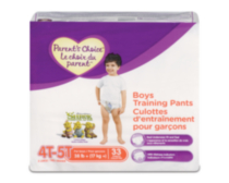 Parent's Choice Training Pants - Boys (Choose Your Size) 4T-5T
