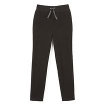 George Girls' Straight Leg Jogger Black L/G